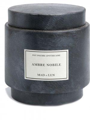 Парфюмированные камни лавы Ambre Nobile Monarchia (300 г) Mad Et Len. Цвет: черный