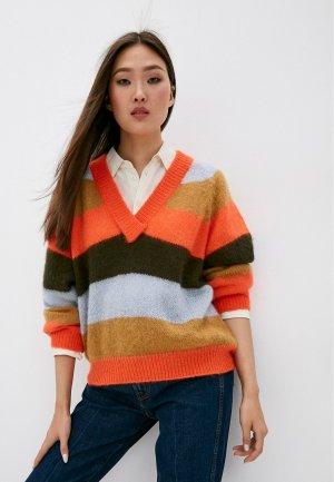 Пуловер Trussardi Jeans. Цвет: разноцветный