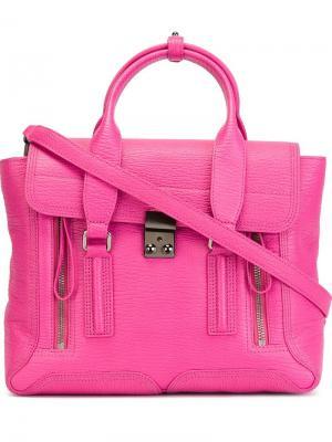 Средняя сумка-сэтчел Pashli 3.1 Phillip Lim. Цвет: розовый