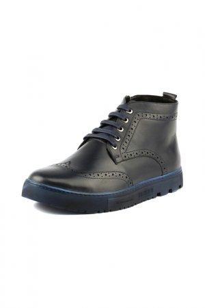 Ботинки RICONTE. Цвет: темно-синий