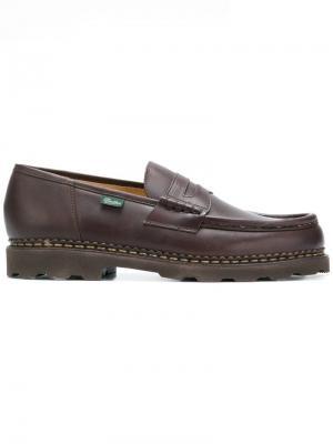 Reims loafers Paraboot. Цвет: коричневый