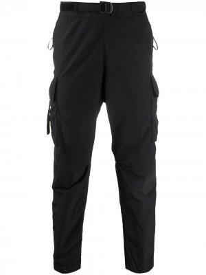 Джоггеры Phase с карманами Nemen. Цвет: черный