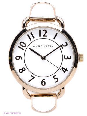 Часы ANNE KLEIN. Цвет: белый, золотистый