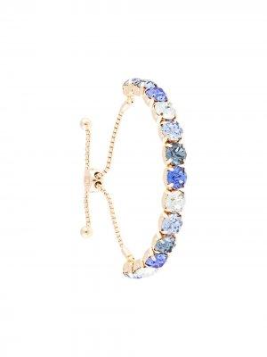 Декорированный браслет Cher Dannijo. Цвет: синий