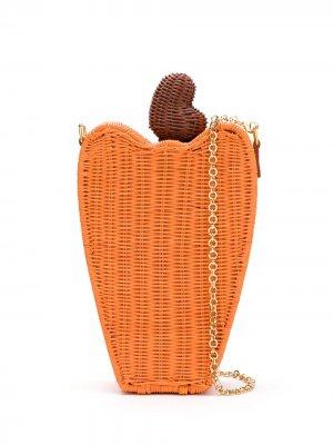 Клатч Caju SERPUI. Цвет: оранжевый