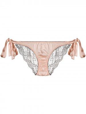 Трусы-брифы Cherie с контрастной вставкой Gilda & Pearl. Цвет: розовый