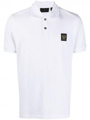Рубашка поло с нашивкой-логотипом Belstaff. Цвет: белый