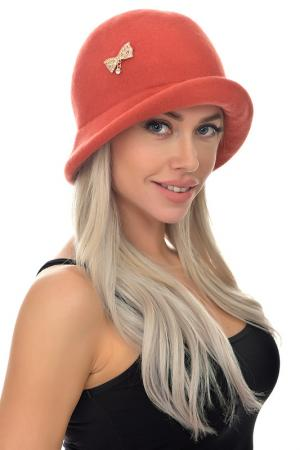 Шляпа Tonak. Цвет: терракотовый