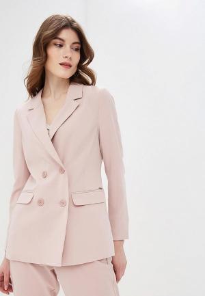 Пиджак b.young. Цвет: розовый