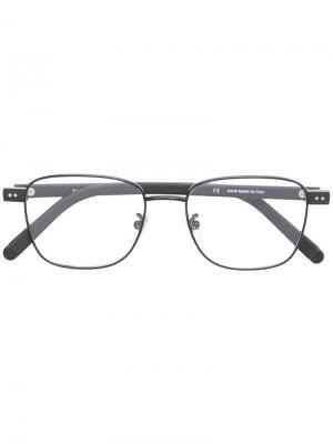 Classic square glasses Retrosuperfuture. Цвет: черный