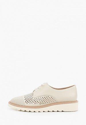 Ботинки Paolo Conte. Цвет: бежевый