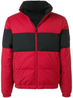 Reversible puffer jacket Z Zegna. Цвет: красный