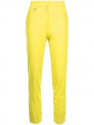 Прямые брюки Lorena Antoniazzi. Цвет: желтый