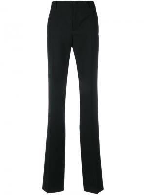 Расклешенные классические брюки Saint Laurent. Цвет: черный
