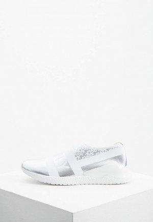 Слипоны DKNY. Цвет: серебряный