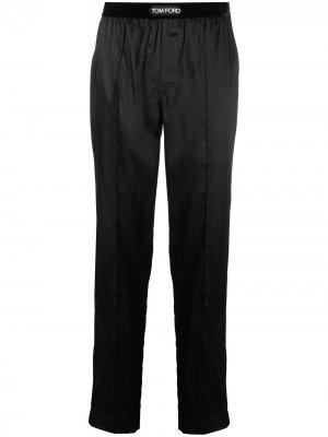 Спортивные брюки с логотипом TOM FORD. Цвет: черный