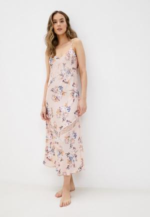 Сорочка ночная Marks & Spencer. Цвет: розовый