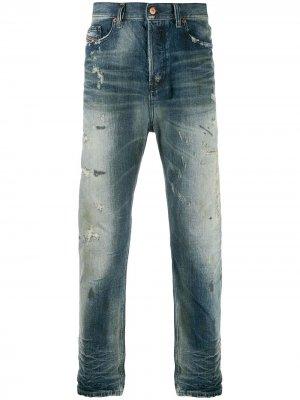 Зауженные джинсы D-Vider 0098S Diesel. Цвет: синий