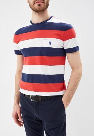 Футболка Polo Ralph Lauren. Цвет: разноцветный