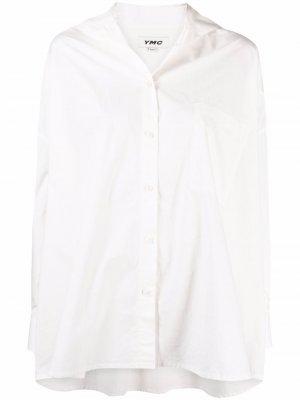 Wicca organic cotton shirt YMC. Цвет: белый