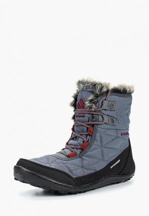 Ботинки Columbia. Цвет: серый