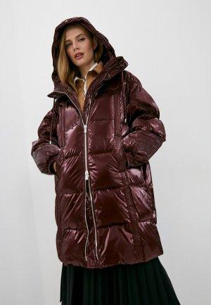 Куртка утепленная Pinko. Цвет: бордовый