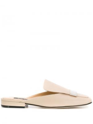 Туфли-лодочки sr1 Sergio Rossi. Цвет: нейтральные цвета