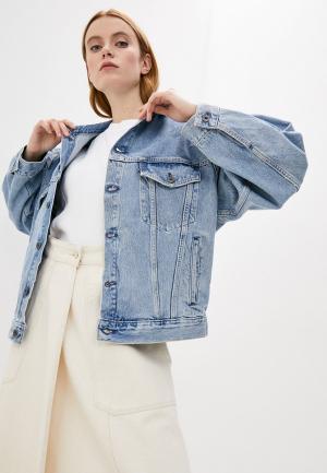Куртка джинсовая Levis® Made & Crafted™ Levi's®. Цвет: голубой