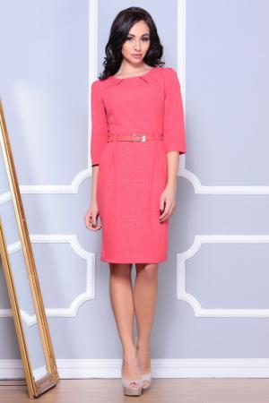 Платье Dioni. Цвет: бордовый