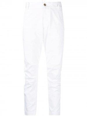 Укороченные брюки чинос Dsquared2. Цвет: белый