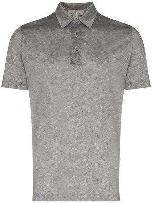 Рубашка поло Lisle Canali. Цвет: серый
