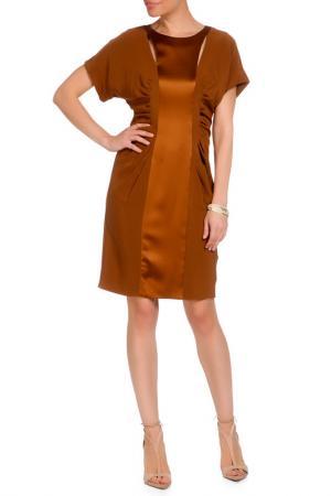 Платье Catherine Malandrino. Цвет: темно-коричневый