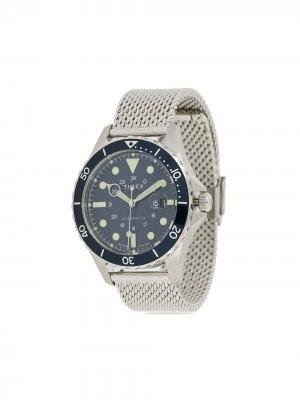 Наручные часы Navi XL Automatic 41 мм TIMEX. Цвет: серебристый