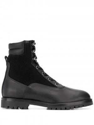 Ботинки Runway Aquazzura. Цвет: черный