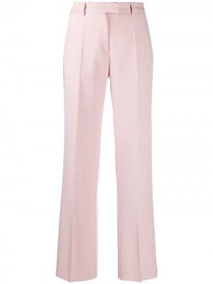 Строгие брюки широкого кроя Golden Goose. Цвет: розовый