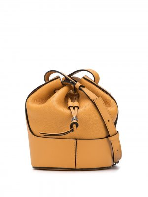 Маленькая сумка Balloon LOEWE. Цвет: желтый
