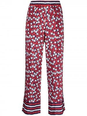 Пижамные брюки с логотипом P.A.R.O.S.H.. Цвет: синий