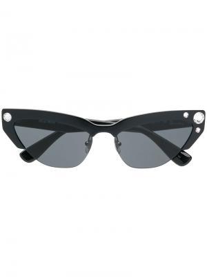 Солнцезащитные очки SMU04U Miu Eyewear. Цвет: черный