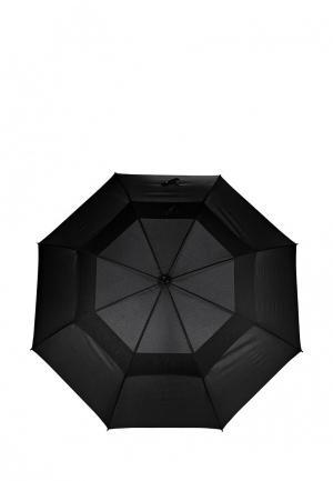 Зонт-трость Flioraj. Цвет: черный