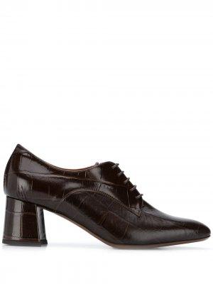 LAutre Chose туфли на каблуке со шнуровкой L'Autre. Цвет: коричневый