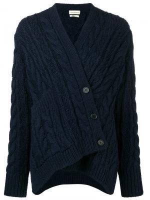 Talanie knitted cardigan By Malene Birger. Цвет: синий