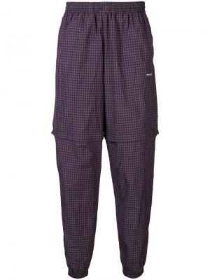 Zipped tracksuit pants Balenciaga. Цвет: синий