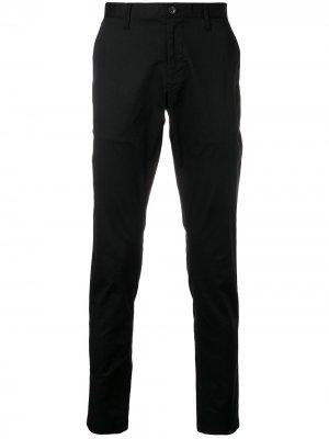 Классические брюки чинос Michael Kors. Цвет: черный