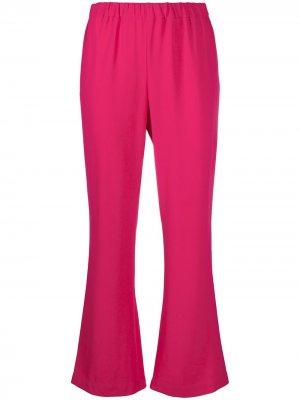 Укороченные расклешенные брюки Marni. Цвет: розовый