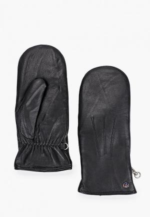 Варежки Fabretti. Цвет: черный