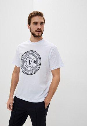 Футболка Versace Jeans Couture. Цвет: белый