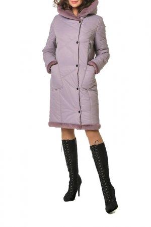 Пальто DizzyWay. Цвет: лаванда