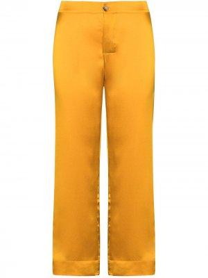 Укороченные брюки Antibes Asceno. Цвет: оранжевый