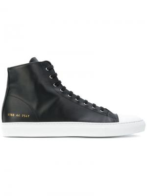 Хайтопы Achilles Common Projects. Цвет: черный