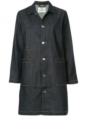 Джинсовая куртка Jeanne Mads Nørgaard. Цвет: синий